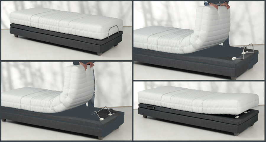 Motorized Hi_motion bed positions