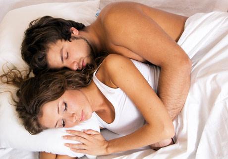 "The ""Spoon"" Sleeping Position"