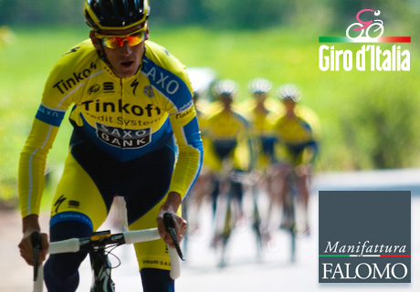 "Manifattura Falomo Starts the Giro 2014 in the Name of ""Healthy Sleep""!"