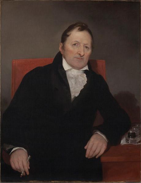 Eli Whitney, cotton gin inventor.