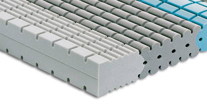 Mattress Falomo with 7 different support areas