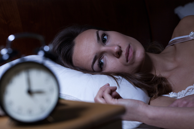 How to fall back asleep when you wake up in the middle of the night!