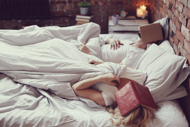 Is it always a good idea to read before bedtime?