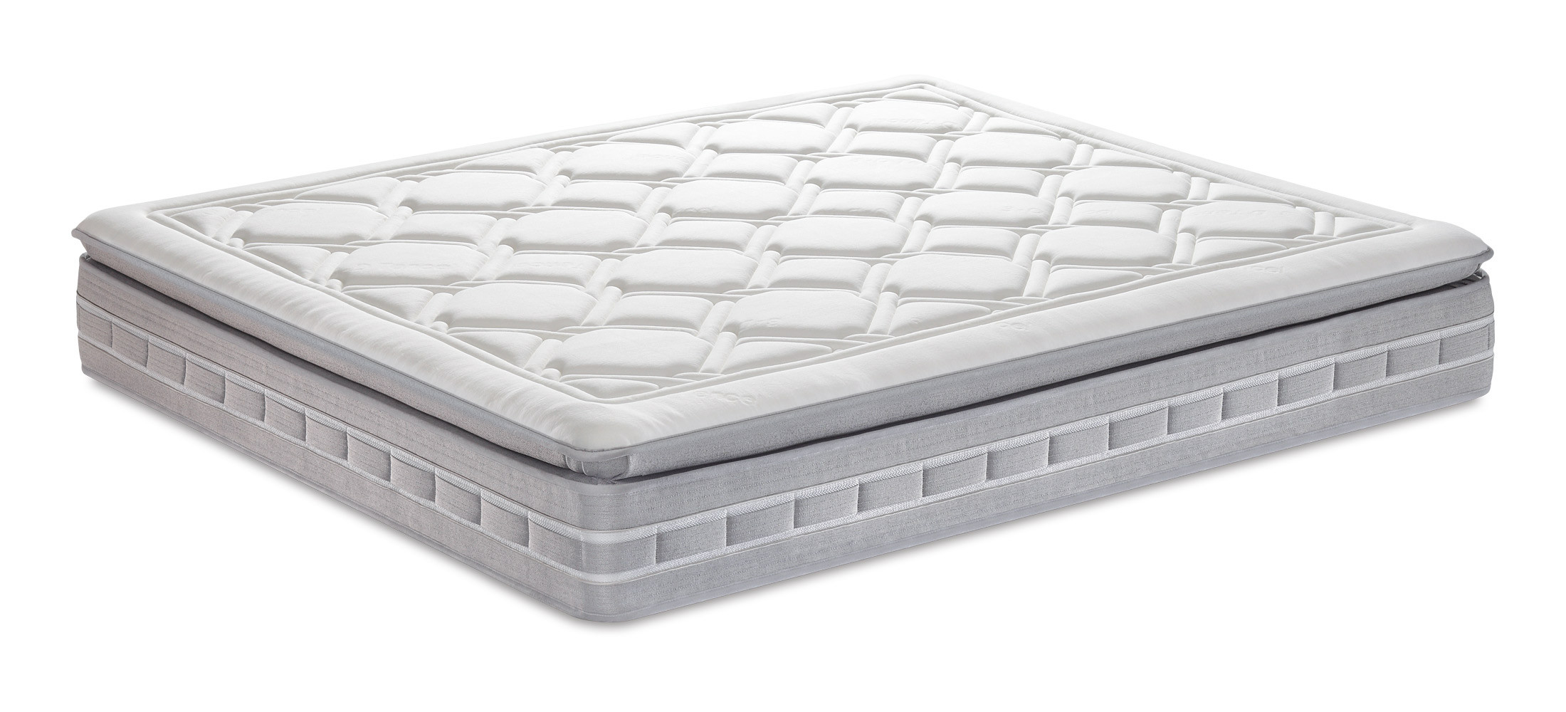 Top Materassi In Memory.Mattress With Pocketed Springs Animo Pillow Top Shop Now