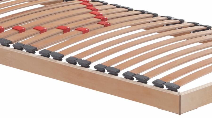 Bed base slats