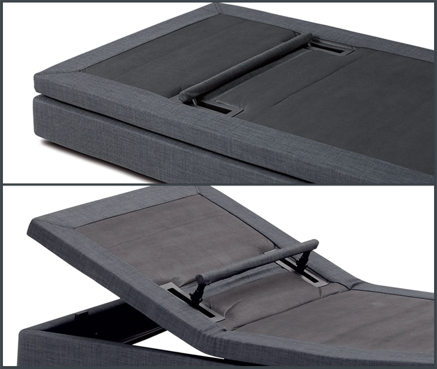 Hi_motion motorized bed: removable lumbar support