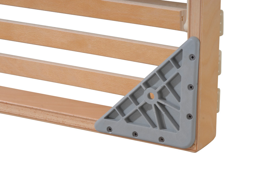 Reinforced corner for slatted bed base Dual XXL