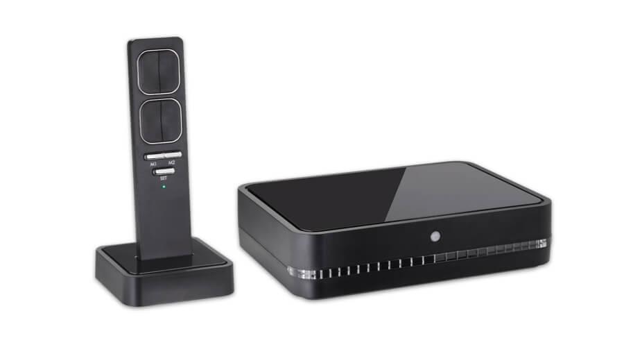 Ergomovie De Luxe wireless remote control