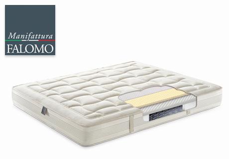 Innovative spring mattress Orma by Manifattura Falomo