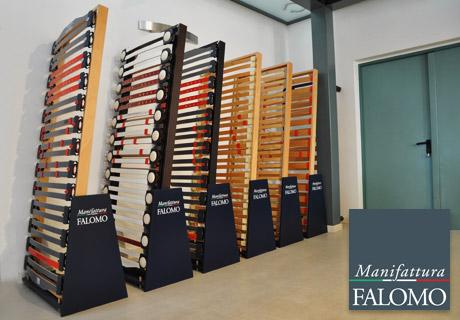 Display areas bed bases Manifattura Falomo