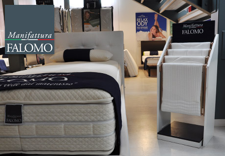 Display Areas Mattresses Covers Manifattura Falomo