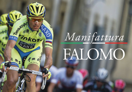 "Manifattura Falomo Starts Out On ""Giro d'Italia 2015""!"