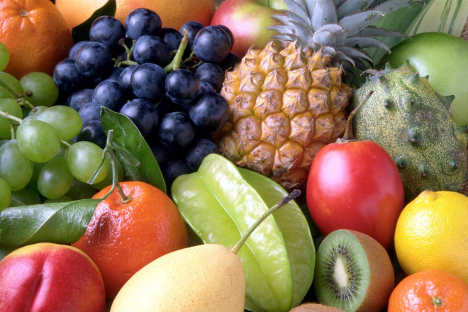 Melatonin natural methods: tropical fruit