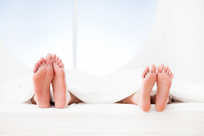 Do you sleep on the right or on the left side of the bed?