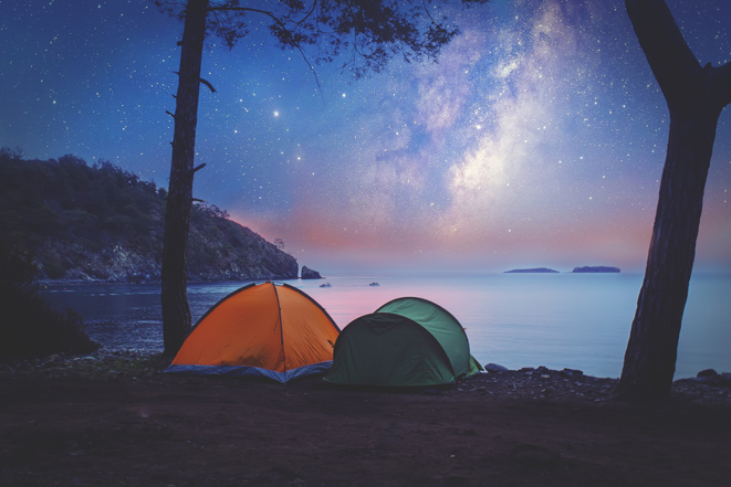 Any plans for the summer? Try out camping to find perfect sleep!