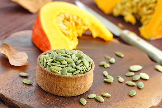Problems with insomnia? Try pumpkin seeds!