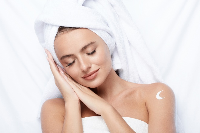 What happens to your skin during sleep?
